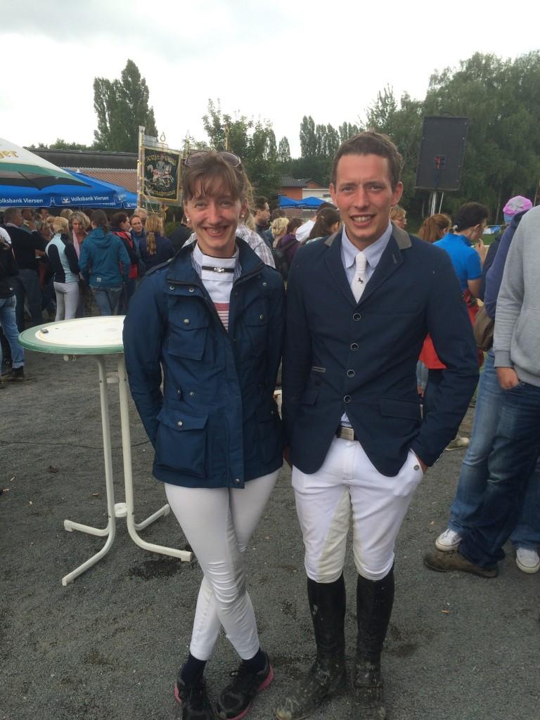 Adrian und Ina Tempel Vize-Kreismeister Viersen 2015